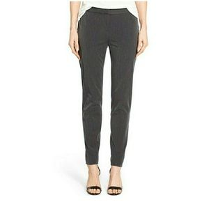Vince Camuto Slim Skinny Fit Grey Trousers